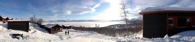 Frozen Lake in Abisko