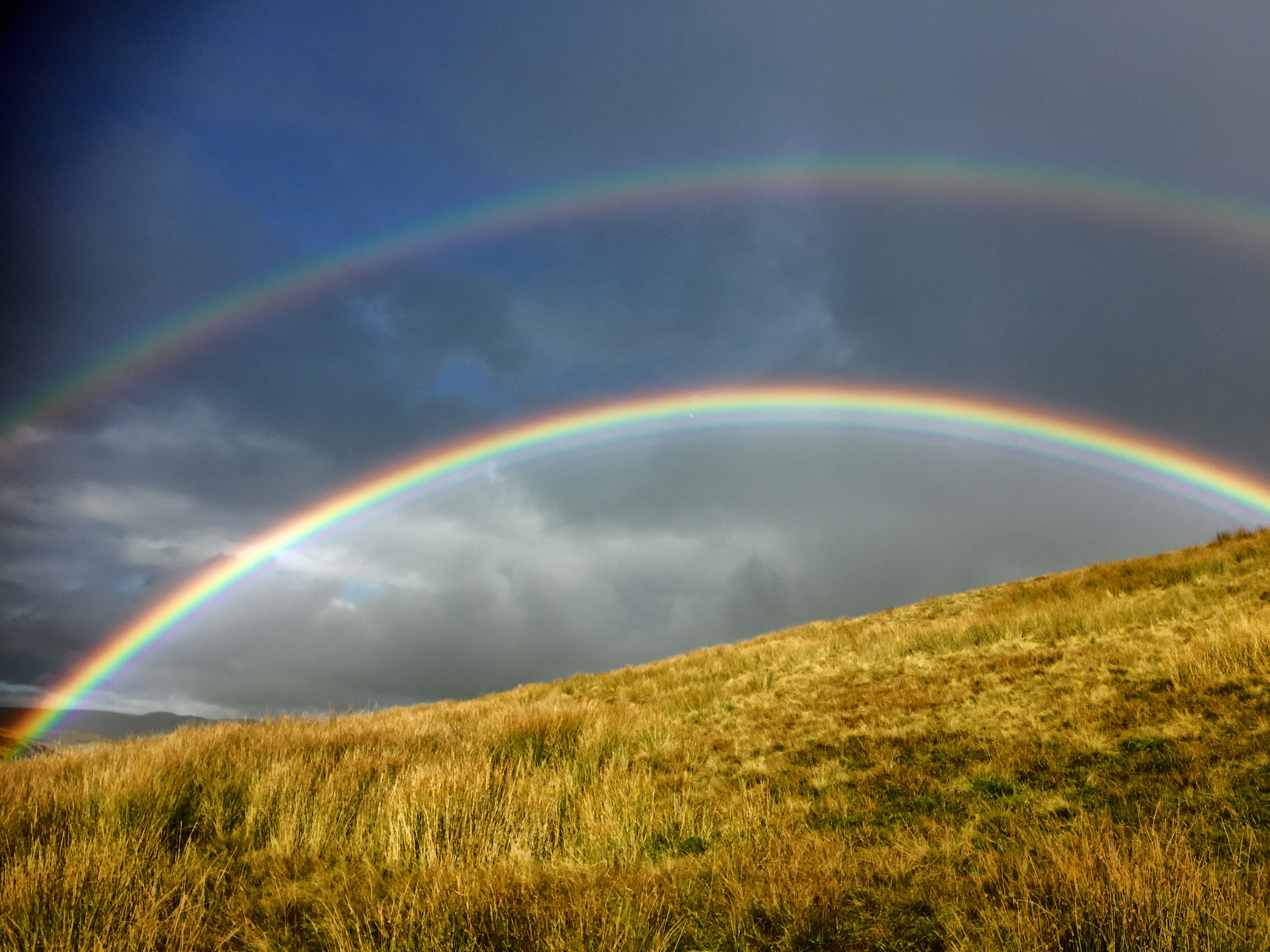Double Rainbow by Pen Y Ghent