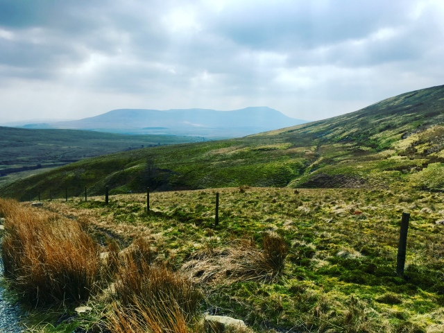 The View from the Descent of Ingleborough