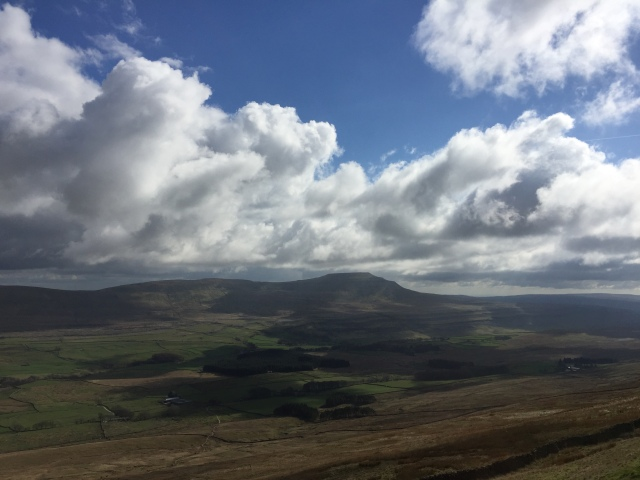 The View from the Ascent of Ingleborough